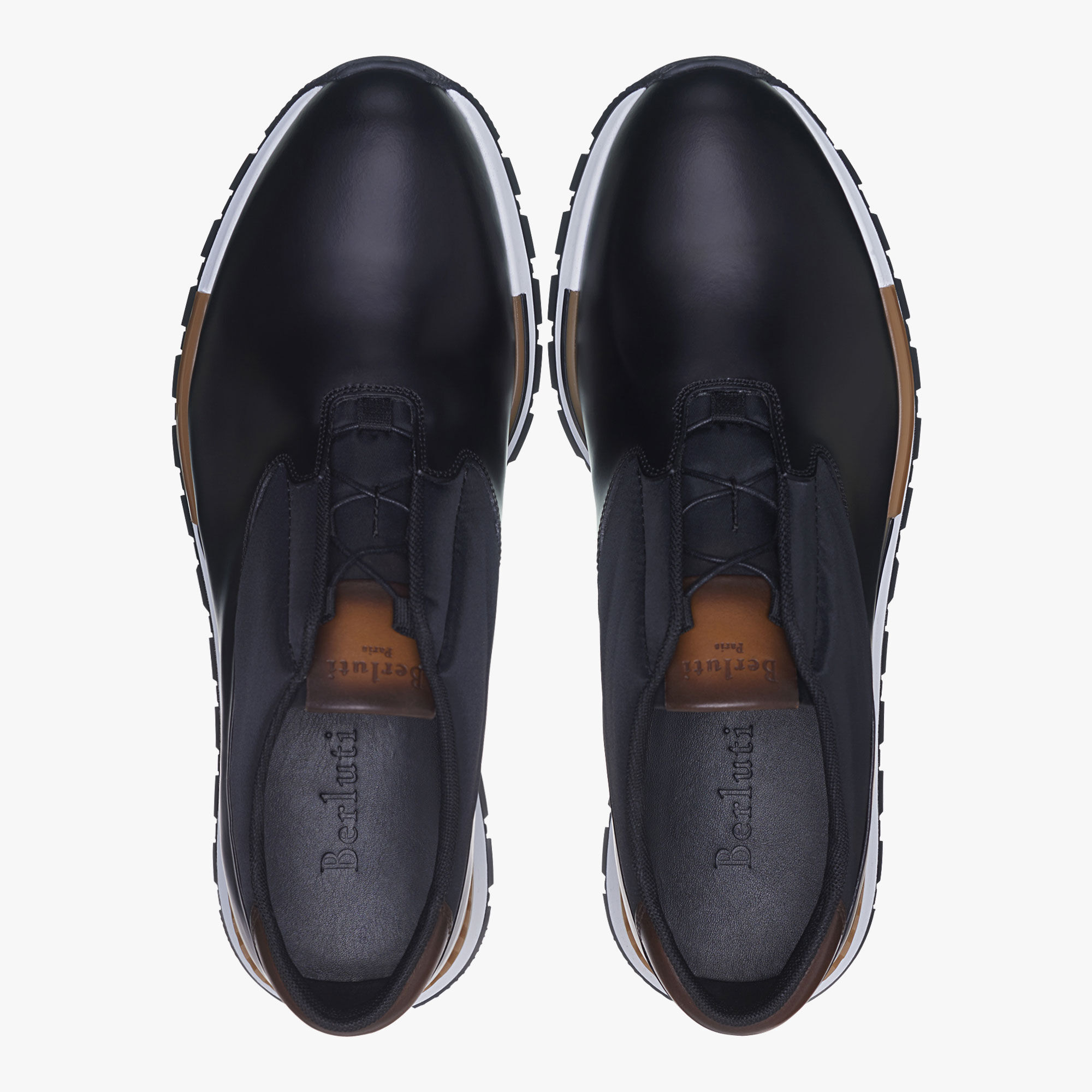 cheap sale low price fee shipping for nice cheap price Berluti Fast Track Torino Suede and Leather Sneakers wiOdm