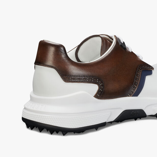 Swing Leather Golf Shoe, BRUN+WHITE, hi-res