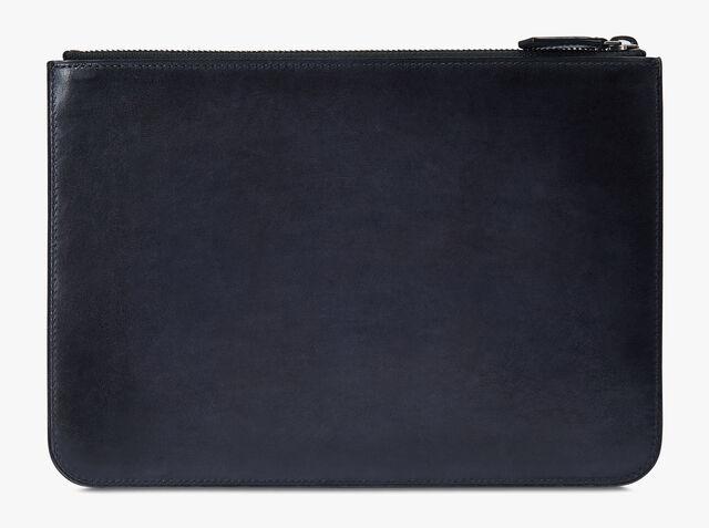 Nino Small皮革手拿包, NERO ANTRACITE, hi-res