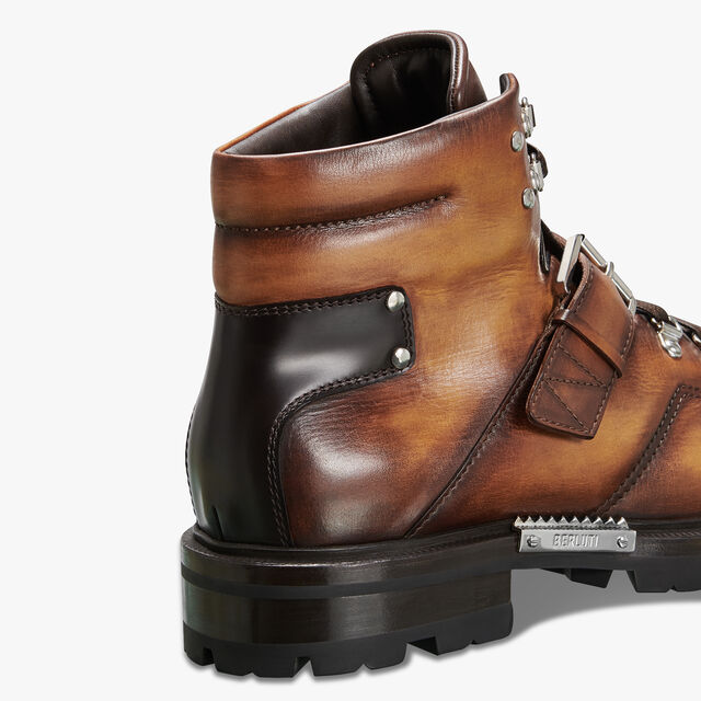 Brunico Leather Boot, ICE GOLD, hi-res