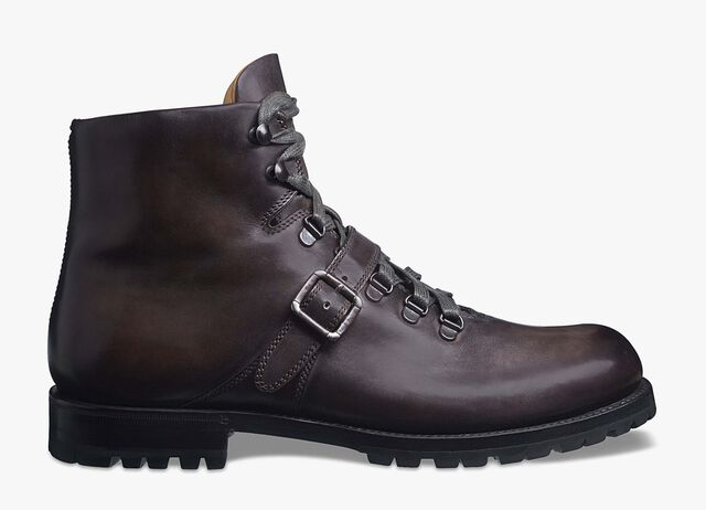 Brunico Bolzano Calf Leather Boot, VIGOGNA, hi-res