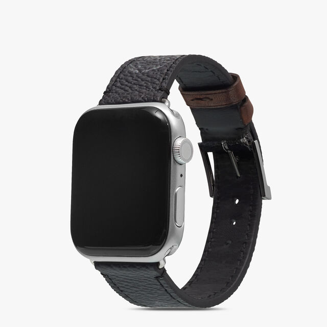 Signature Canvas and Venezia Apple Watch Bracelet, BLACK+TDM INTENSO, hi-res