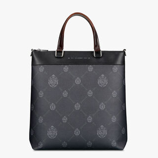 Passenger Vertical Canvas And Leather Tote Bag