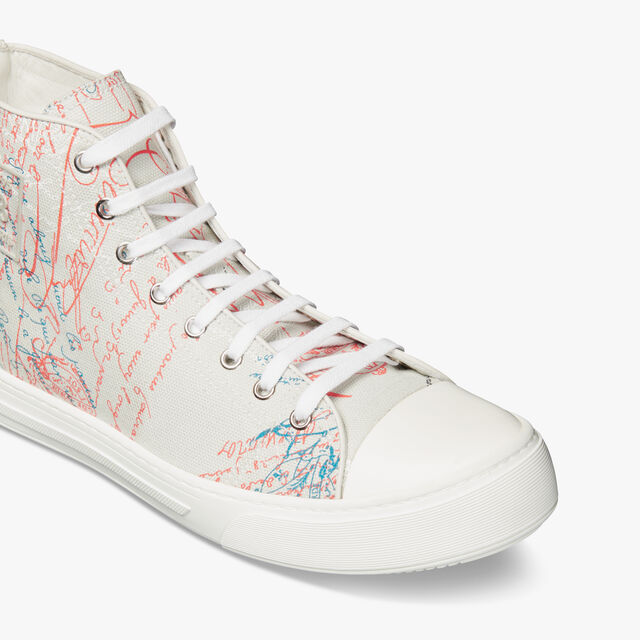 Playground Scritto Canvas High Cut Sneaker, GREY MULTICO, hi-res