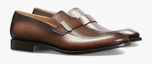 Reflet Calf Leather Loafer, BUFFALO, hi-res