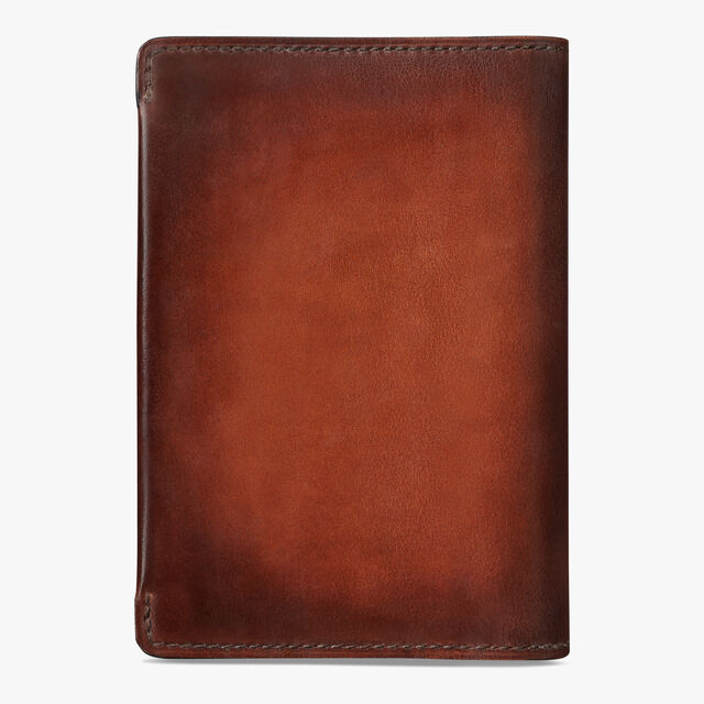Escale Leather Patina Illusion Wallet, TOBACCO BIS, hi-res