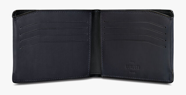 Essentiel Bills Scritto 皮革钱包, BURNT BLUE, hi-res