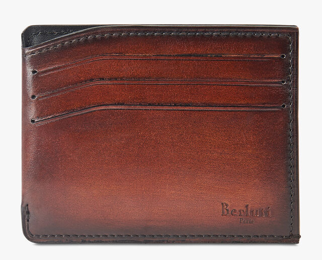 Bambou Leather Card Holder, MOGANO, hi-res