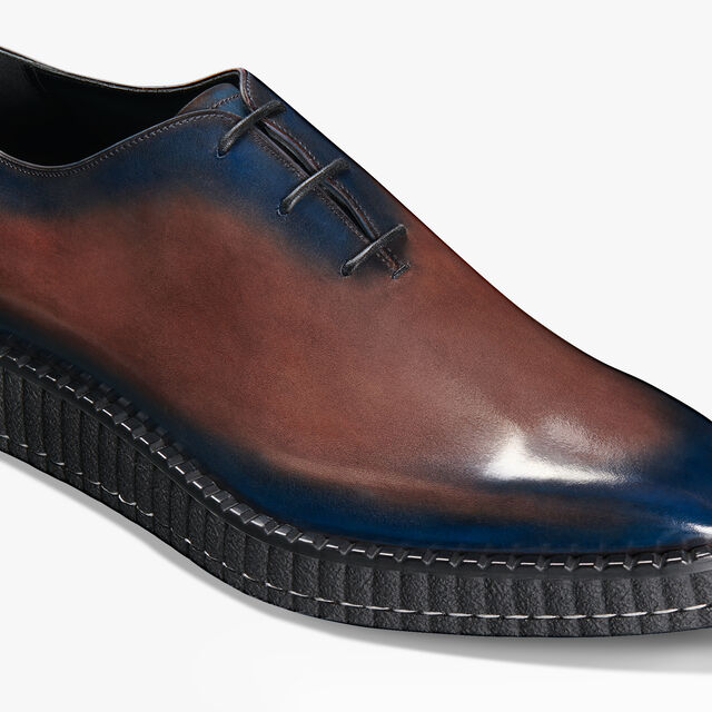 Alessandro Creepers Démesure Leather Oxford, BURNT BLUE, hi-res