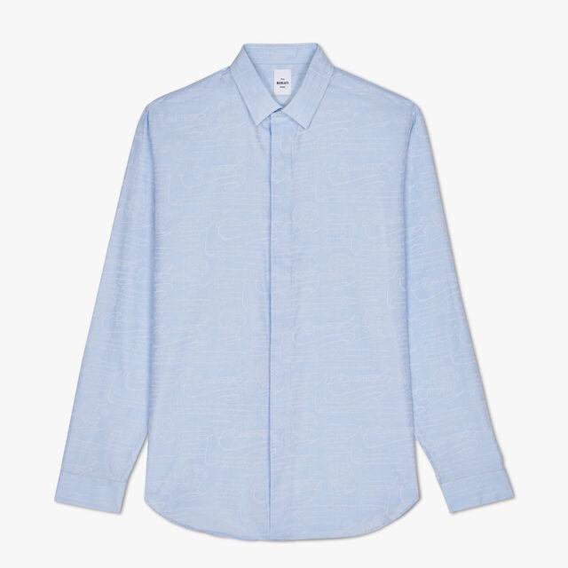 Cotton Shirt, BLANC OPTIQUE, hi-res