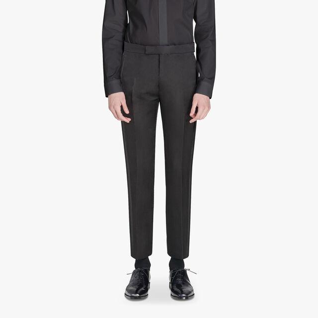 Alessandro Formal Evening Scritto Wool Pants, NOIR, hi-res