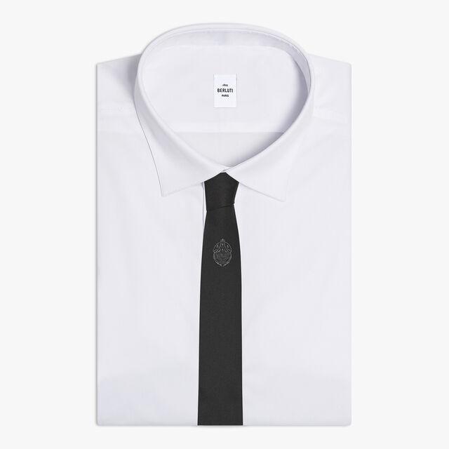 纹饰领带, NOIR, hi-res