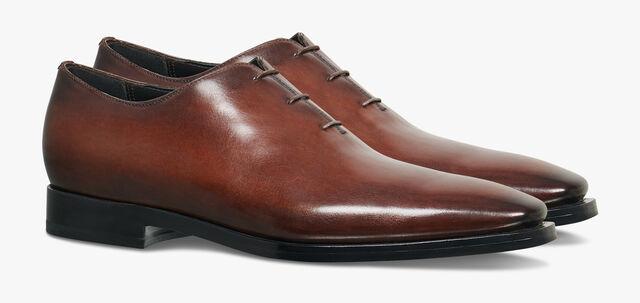Alessandro Eclair Calf Leather Oxford, BRUN, hi-res