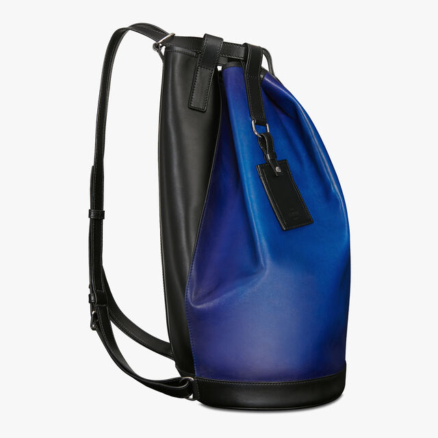 Traversee Leather Backpack, DEEP SEA BLUE, hi-res