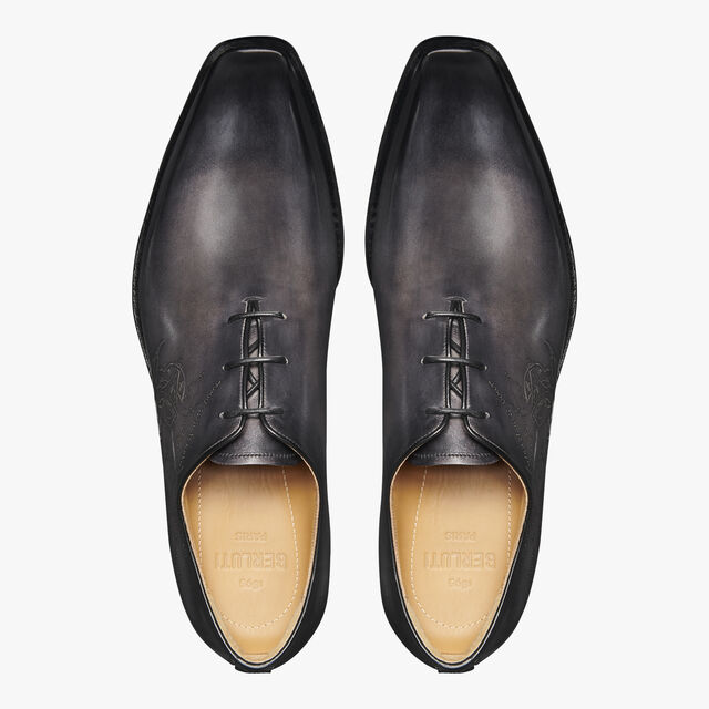 Alessandro Infini Leather Oxford, NERO GRIGIO, hi-res