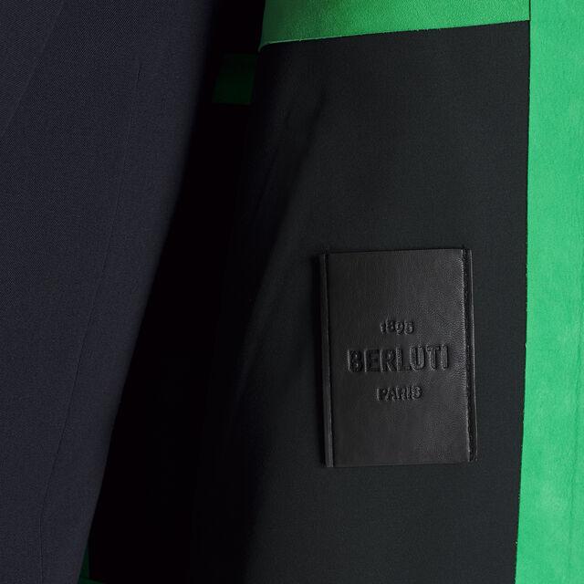 Parka En Cuir Technique, CLOVER GREEN, hi-res