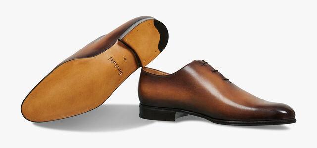 Alessandro Galet 皮革牛津鞋, TOBACCO BIS, hi-res