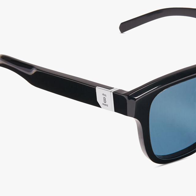 펄서 아세테이트 선글라스, BLACK+VINTAGE BLUE, hi-res