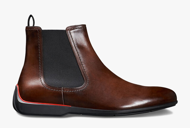 Ferrari Calf Leather Boot - In-Store Exclusive, BRUN, hi-res