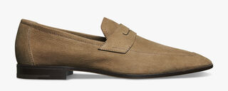 Luciano Rimini Leather Loafer, TAUPE, hi-res