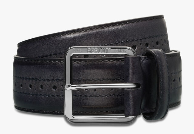 Venezia 35 mm Belt, NERO GRIGIO, hi-res