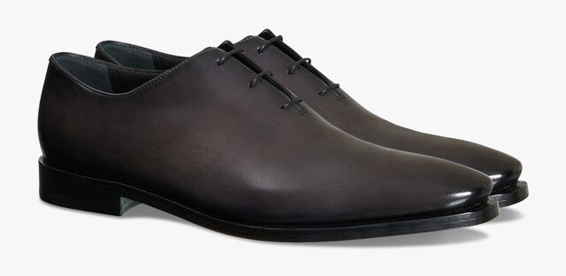 Alessandro Eclair Leather Oxford, DEEP BLACK, hi-res