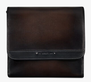 Flaneur Leather Messenger Bag