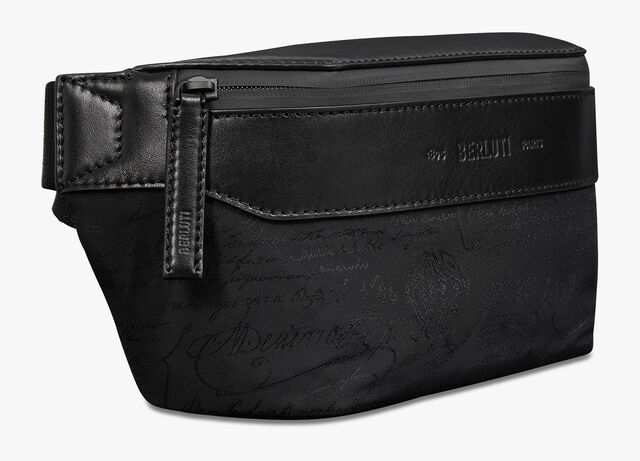 Complice Small Nylon Belt Bag, NERO, hi-res