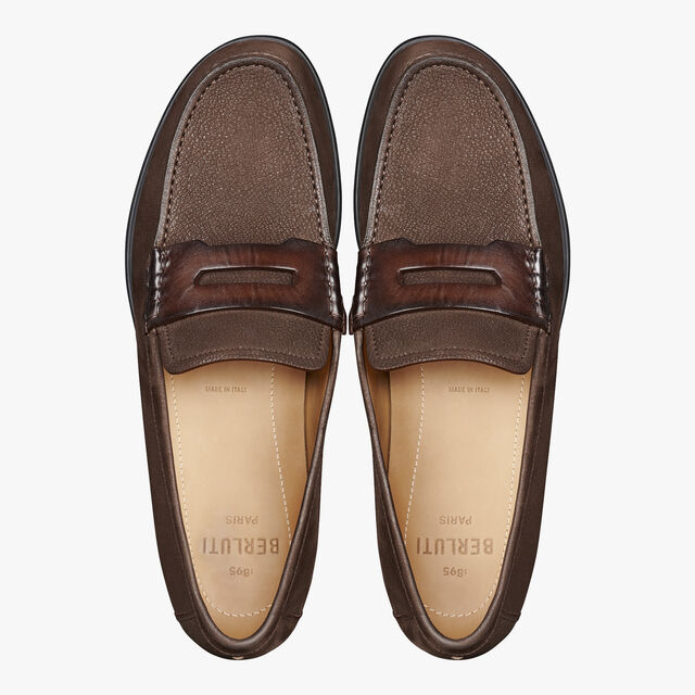 Cape Cod Suede Leather Loafer, TDM, hi-res
