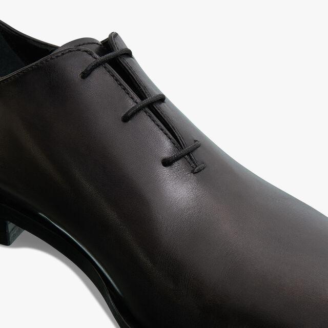 Alessandro Eclair皮革牛津鞋, DEEP BLACK, hi-res