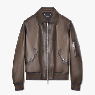 Leather Patina Blouson