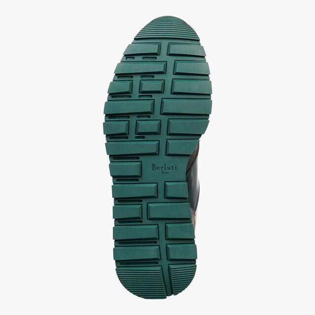 Run Track Torino Calf Suede Sneaker, CAMBRIDGE, hi-res