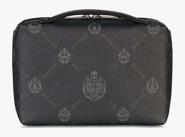 Virée Canvas And Leather Pouch, BLACK+TDM INTENSO, hi-res