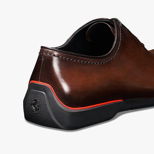Ferrari 小牛皮牛津鞋 - 店内独售, BRUN, hi-res