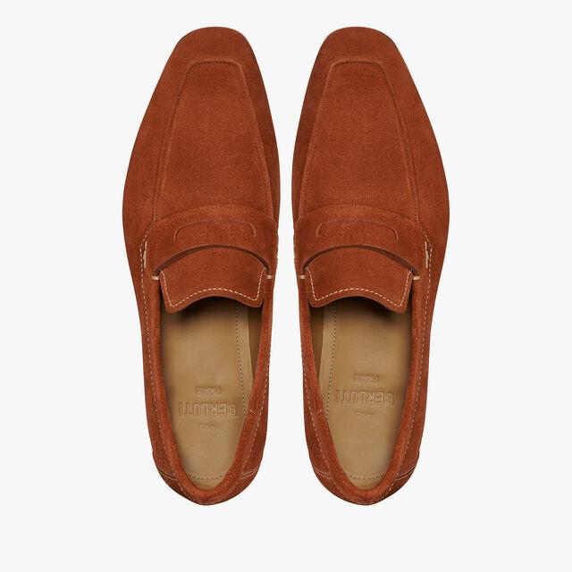 Lorenzo Rimini Leather Loafer, TERRACOTTA, hi-res