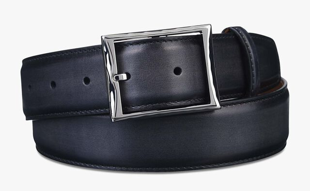 Classic Leather Belt - 35 mm, NERO, hi-res