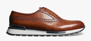 Fast Track Torino Leather Sneaker, COGNAC, hi-res