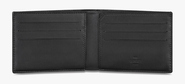 Excursion Canvas And Leather Wallet, BLACK + TDM INTENSO, hi-res