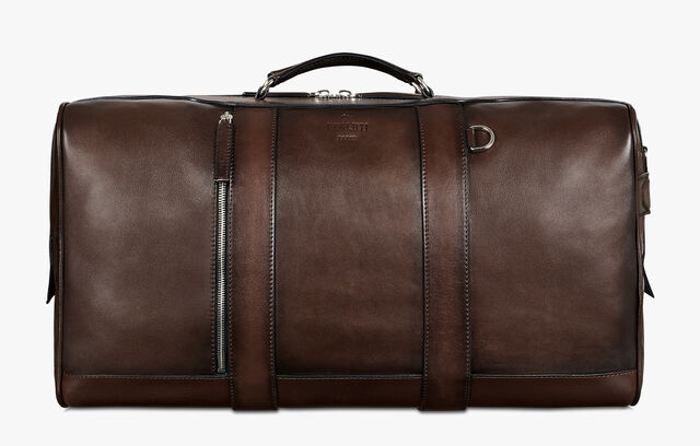 Eclipse Leather Travel Bag, BRUN, hi-res