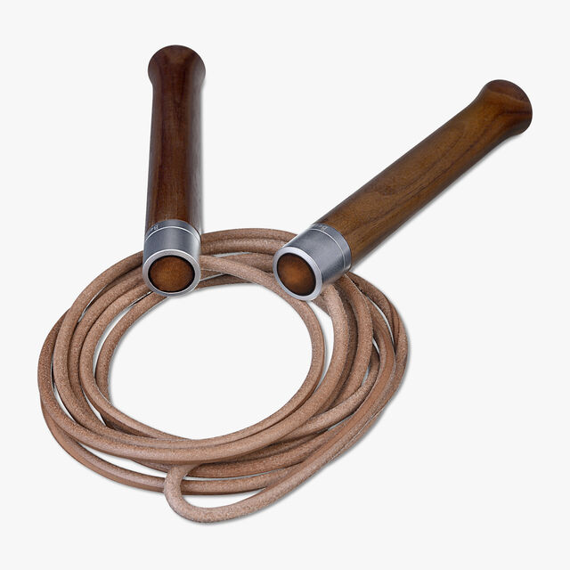 Leather Jump Rope, TOBACCO BIS, hi-res