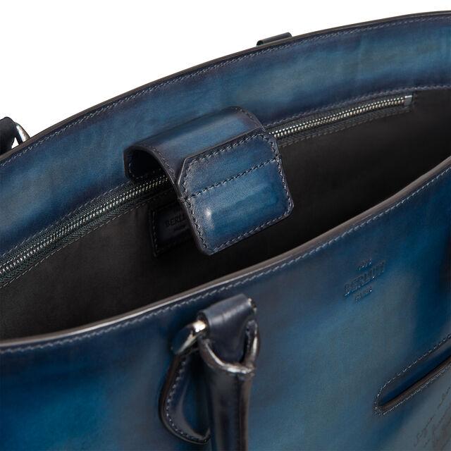 【限定発売】トゥジュール ミニ レザー トートバッグ, DUSTY BLUE, hi-res