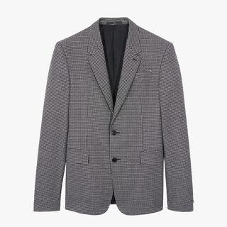 체크 알레산드로 라이닝 재킷