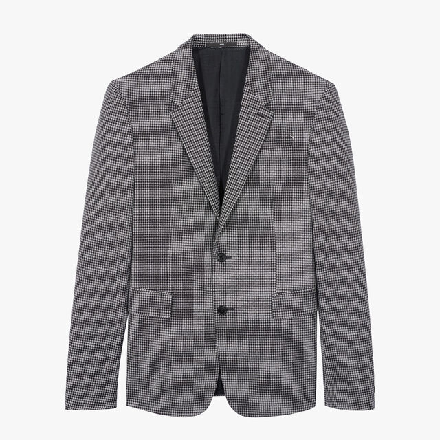 Check Alessandro Lined Jacket, BLACK CHECK, hi-res