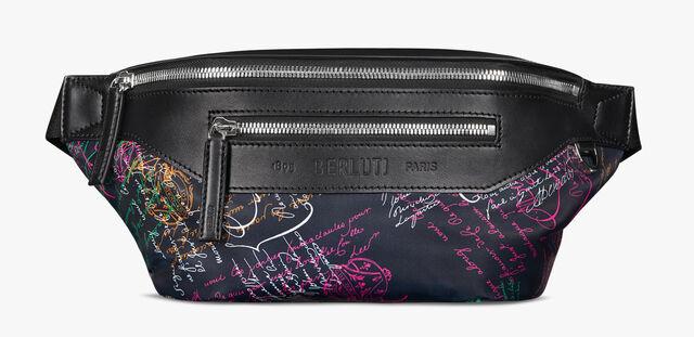 Complice Medium Nylon Scritto Belt Bag, NAVY MULTICO, hi-res