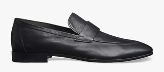 Lorenzo Lecco Kangaroo Leather Loafer, NERO, hi-res
