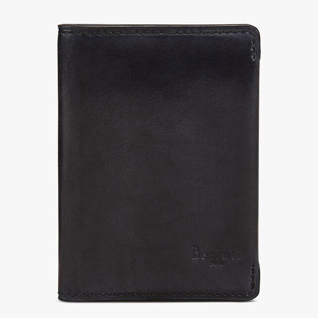 Ideal皮革卡包, DEEP BLACK, hi-res