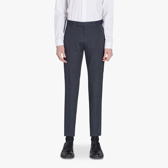 Alessandro Regular Formal Striped Wool Pants, CAOS NIGHT, hi-res