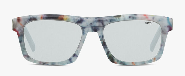Neon 长方形醋酸纤维太阳眼镜, MARBLE, hi-res