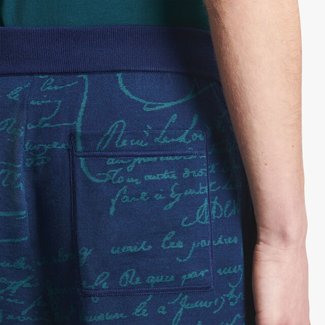 Scritto Wool Shorts, OCEANIC WAVE, hi-res