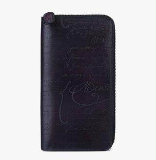 Itauba Leather Long Zipped Wallet, SAINT EMILION TRI, hi-res
